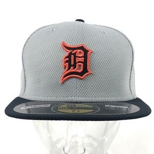 Detroit Tigers New Era Fitted Baseball Hat 7 1/2